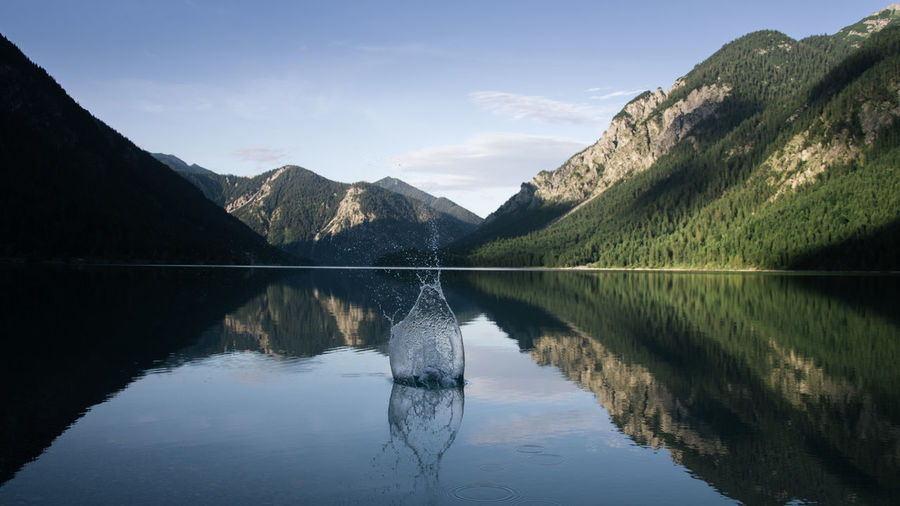 Another gem. Definitely one of the most underrated travel destinations in my opinion. Beauty In Nature Day Formation Idyllic Lake Mountain Mountain Range Nature No People Non-urban Scene Outdoors Reflection Reflection Lake Remote Scenics - Nature Sky Symmetry Tranquil Scene Tranquility Water Waterfront