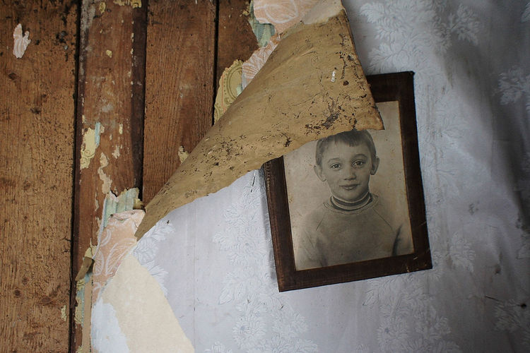 When he was young Abandoned Close-up Day Forgotten Human Representation Indoors  No People Photo Representing Ruins