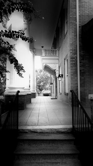 'Aristocrats' Beauxarts Architectural Feature Front Porch History Black And White Photography Fujifilm Southern Comfort Architectural Detail Architecture Photography