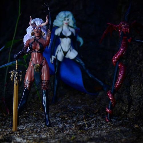 """We will have 2 vodka crans and some eternal damnation please! thanksss!"" Toyonlocation Toy_nerds Ladydemon Toyphotography Toycrewbuddies Toystagram Toyartistry Evil Devil ATA_Horror_Click Shedevil Ata_dreadnoughts _tyton_ Toyoutsiders Toydiscovery Ladydeath Comiccon Sexy Female Femalefigure Collectable Actionfigures Bikini Capturedplastic Toy_quest toyslagram"