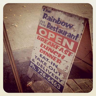My newest most favouritest breakfast place! Oshawa Rainbowrestaurant