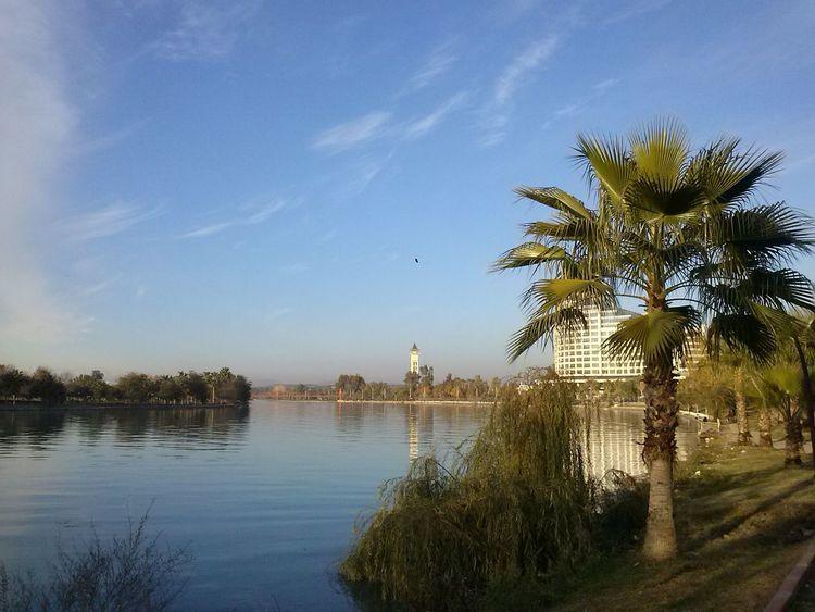 Seyhan River Seyhan Nehri Adana Sky Day Palm Tree Travel Destinations No People Nature Outdoors