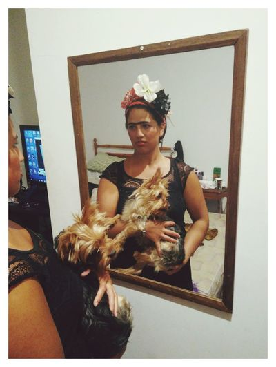 Frida en disfraz Frida Kahlo Disfraz Mar Del Plata  First Eyeem Photo