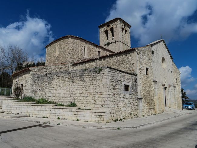 Saint George's Church. Campobasso, Italy. XII sec. Sacral Place ArchiTexture Architectureporn Campobasso Molise Italy Italia Ancient Architecture Historical Architecture Historical Church Historical Building Historical History Material Stone Material Stone Sunny Day Sacral Architecture Sacral Volumes Church Tower Church Architecture Church Architecture History Built Structure Castle Ancient Sky Building Exterior