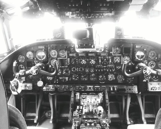 EyeEmNewHere No People Aerospace Industry Control Panel Transportation