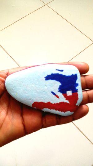 Flag Haiti Haitian Map Blacknation TPLPL Painting Love Enjoying Lif Life ending my map and flag painting haiti trace me there
