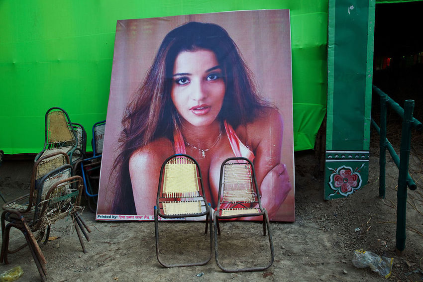 Two chairs at Sonepur Mela in the state of Bihar, India. India Sonepurmela Sonepur Street Photography