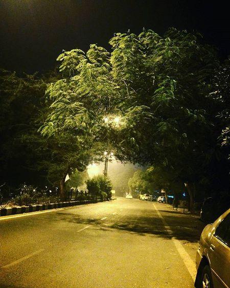 Of wintery nights! Winter Night Chillintheair Delhi Sodelhi DelhiGram Cold Street Indiapictures Citylife Road Tree Delhidiaries Nightphotography Travelgram Naturegram Walk Wanderlust WhenInDelhi