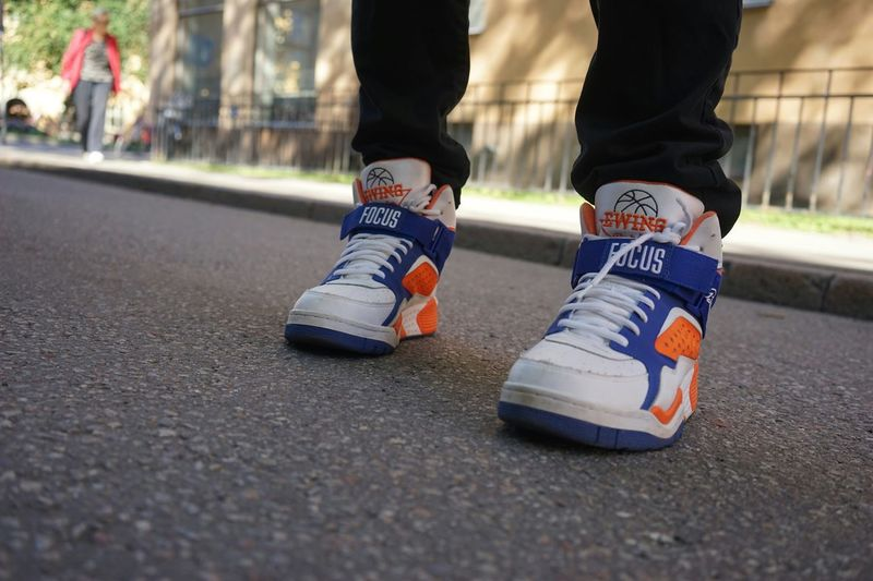 Streetphotography Streetlife Basket Sneakers Ewing 33 Hi Retro Södermalm Stockholm Out Of The Box Ewing
