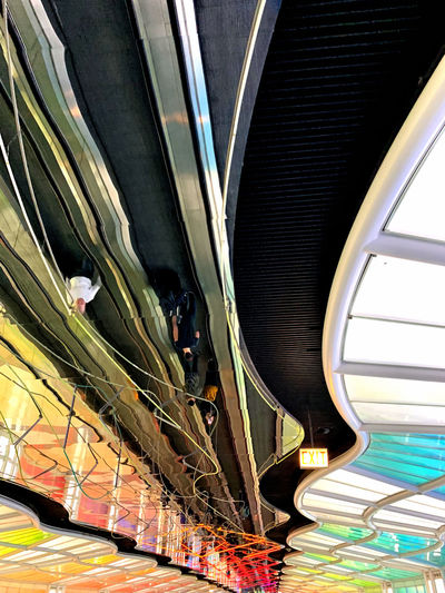 Metal No People Indoors  Architecture Transportation Railing Staircase Built Structure Pattern Close-up Mode Of Transportation Escalator Steps And Staircases Day Public Transportation Modern Land Vehicle Connection Rail Transportation Steel Alloy