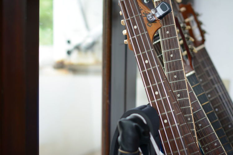 Arts Culture And Entertainment Bass Guitar Close-up Fretboard Guitar Indoors  Music Musical Equipment Musical Instrument Musical Instrument String No People Performing Arts Event Playing Plucking An Instrument String Instrument TakeoverMusic