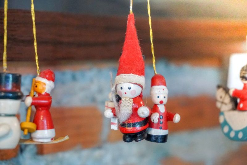 Merry Christmas Human Representation Representation Art And Craft Toy Male Likeness Figurine  Red Decoration Christmas Decoration Creativity Christmas Indoors  Snowman Doll Close-up Still Life