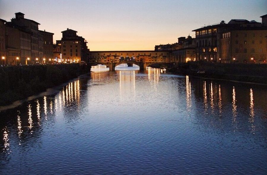 Ponte Vecchio, Florence Wanderlust Protecting Where We Play EyeEm Best Shots Florence Ponte Vecchio Hello World Traveling Travel Photography Sunset Sunset #sun #clouds #skylovers #sky #nature #beautifulinnature #naturalbeauty #photography #landscape