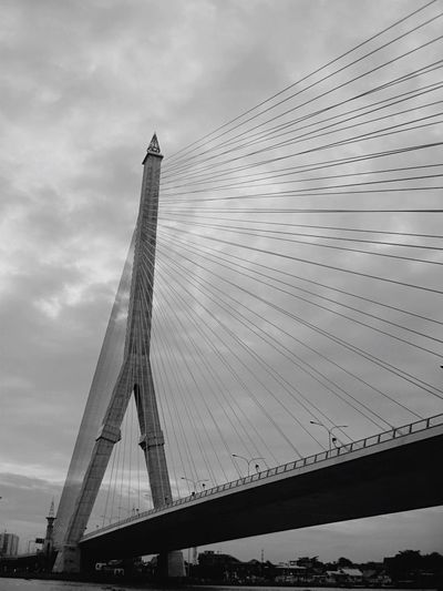 Rama bridge in Bangkok Built Structure Bridge - Man Made Structure Architecture