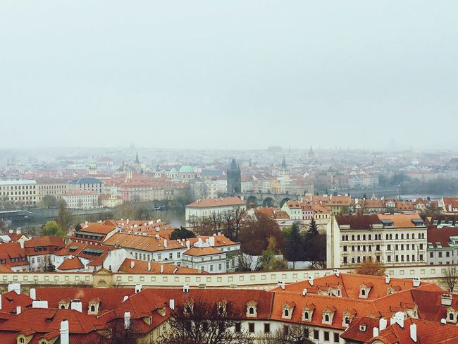 View from Praha castle 屋根 古い 街並み 建物 プラハ ヨーロッパ Old Buildings Old Town Cityscape Cityview Praha Cloud Building Exterior Architecture Built Structure City Sky Building Cityscape Crowd Crowded Residential District Town Outdoors Roof EyeEmNewHere