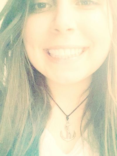 Necklace Anchor Smile Happy