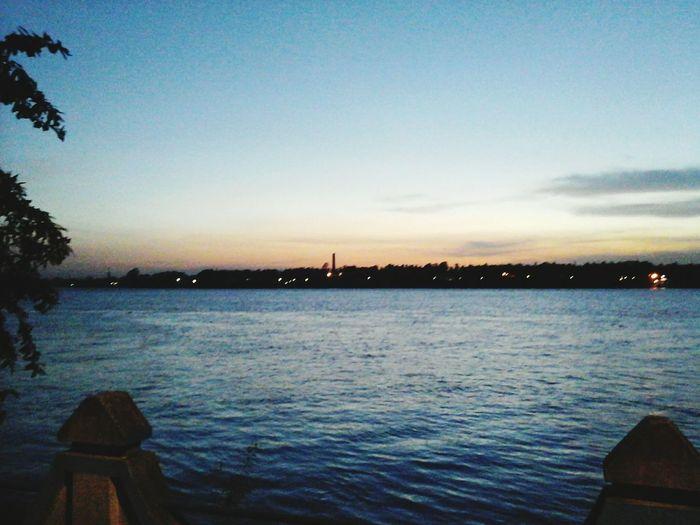 amazing and enticing sunset over the ganges at Nawabganj, Ishapore !!! First Eyeem Photo
