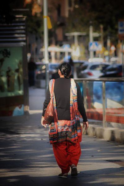 Vic Catalunya One Person Street City Lifestyles Clothing Women City Life Real People City Street EyeEmNewHere Walking Capture Tomorrow