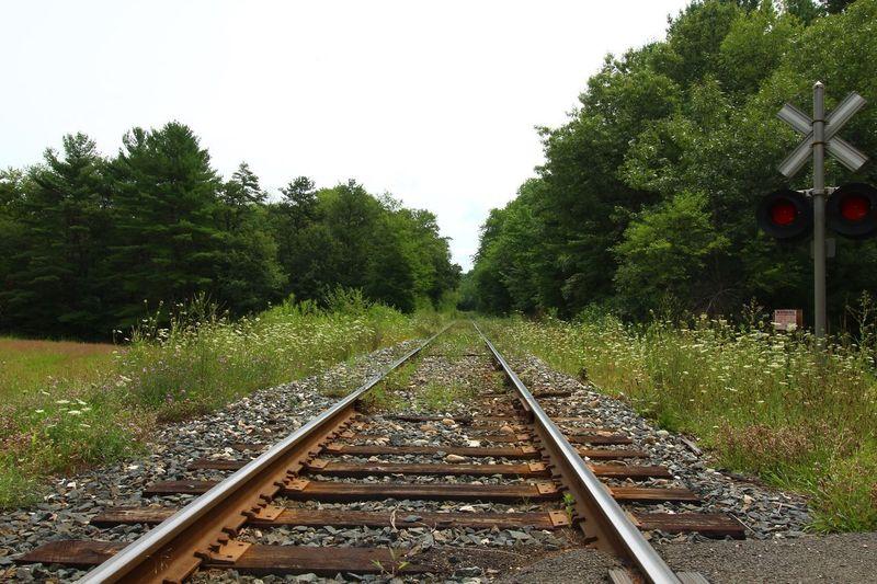 Railroad Tracks Belchertown, Massachusetts