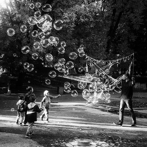 The Bubblemaster Poland Bialystok Bubbles Street Photography Childhood Children The Street Photographer - 2017 EyeEm Awards The Street Photographer - 2017 EyeEm Awards The Week On EyeEm Summer Exploratorium