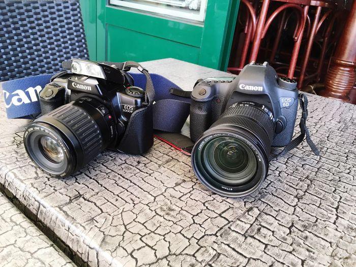 Ma petite famille photographique s'agrandit 😄 (et remonte le temps par la même occasion 😋) Canonphotography Reflex Canon Camera EOS Eos6d Camera - Photographic Equipment Camera Work Eos 1000f