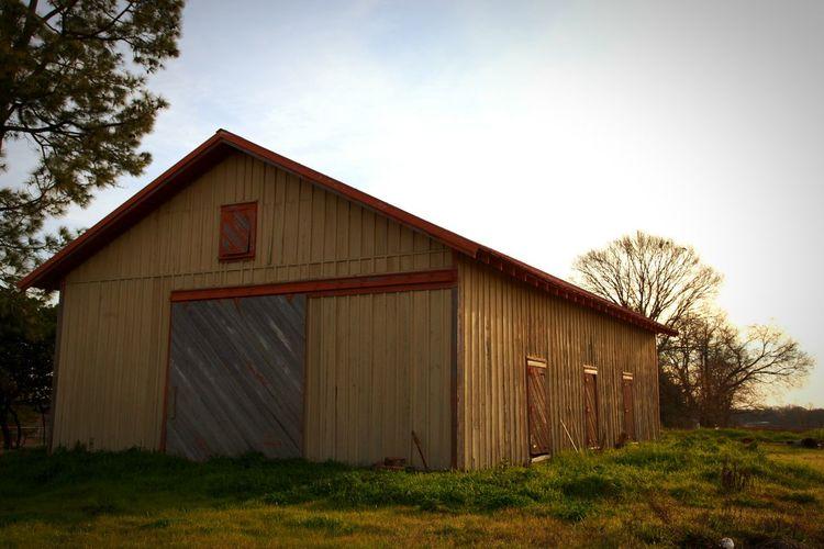 Barn Built