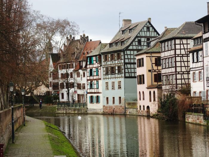 Strasbourg Alsace France Petite France My Shot  Photography Belle Couleur Multi Colored Magnifique Authentic Moments Maison Strasbourgeoise Weekend En Amoureux