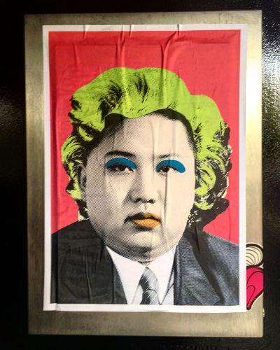 Human Representation Portrait Headshot Human Face Art North Korea Kim Jong Un Marilyn Monroe Warhol London Indoors  The Portraitist - 2018 EyeEm Awards