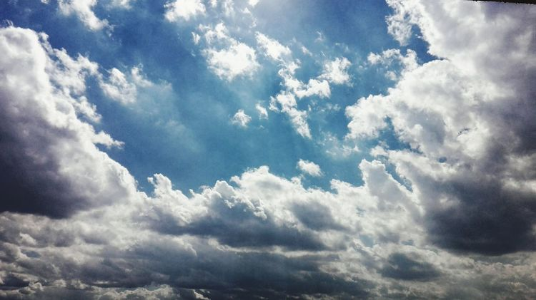 Cloud - Sky Sky Low Angle View Horizontal Archival No People Heaven Beauty In Nature Outdoors Day Nature Close-up