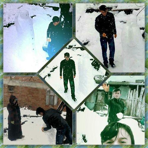 Kardan Adamımız Fazla Yaşamadı snow mansnowmancold