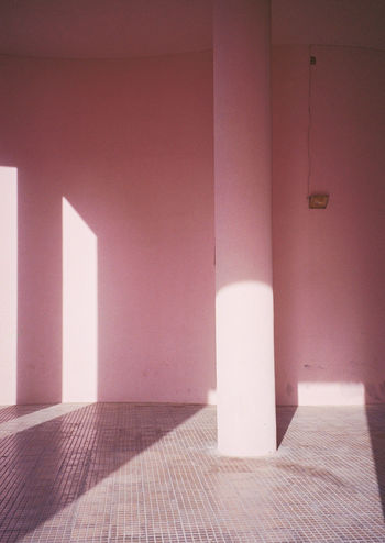 Analogue Photography Architecture Film Photography Filmisnotdead Pastel Power Pink 35mm Color Palette TakeoverContrast Minimalist Architecture The City Light