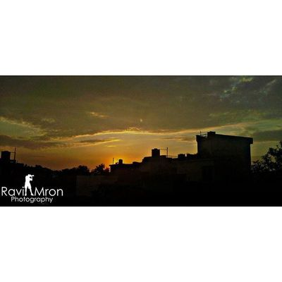 RaviMron_Photography Sunset_capture From_terrace Phonography  phonographer picsart