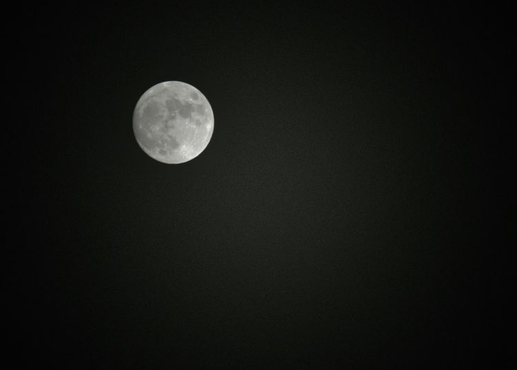 Dark Moon Round Up High Bright Moon Almost A Full Moon Craters Moonlight