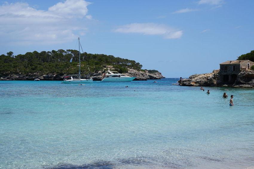 Baleares Balearic Islands Cala Mondrago Cala Santanyi Colonia De Sant Jordi Mallorcaisland Parc Natural De Mondrago Platja Platja D'es Molí De S'estany Platja Es Peregons Playa Playa Es Peregons Petits Santanyi