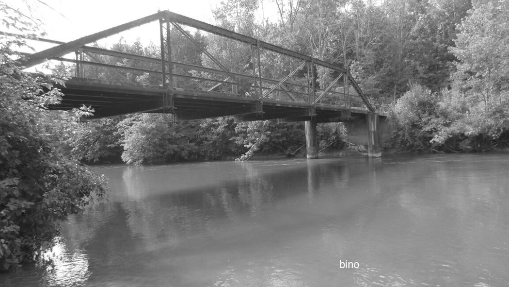 Bridge - Man Made Structure Family Day Beauty In Nature River Architecture Black And White Photography Beautiful Spot Bridge Over Troubled Water Manistee, Michigan