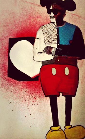 Illustration Fashion Lovelouclothing  Mickey Mouse