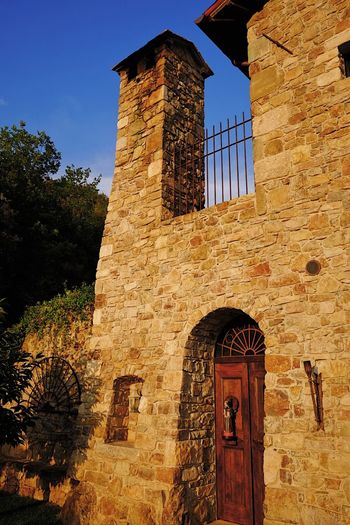 Old Monastery in Umbria, Italy. Architecture Building Exterior Built Structure Church Day History No People Outdoors Religious Architecture Sky Sunset
