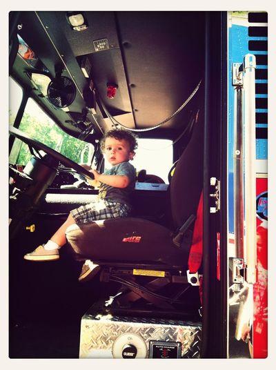 Touch-A-Truck....fire truck