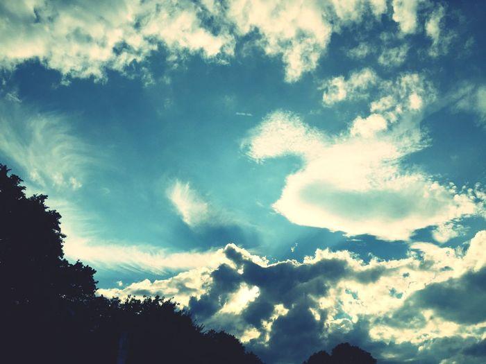 Himmel weite