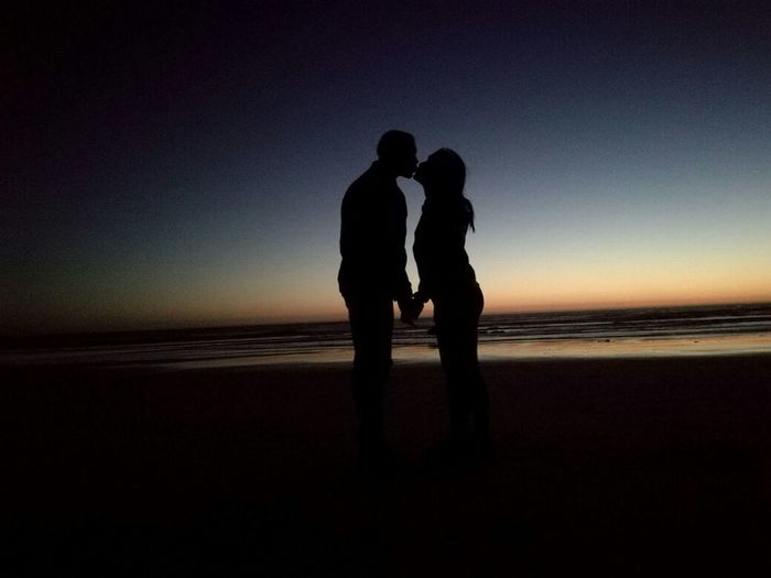 Bonding Couple Couple - Relationship Love My Year My View Silhouette Togetherness Two People