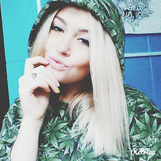 Blondie Canabis My Foto Drugs Is My Life ! ❤️❤️