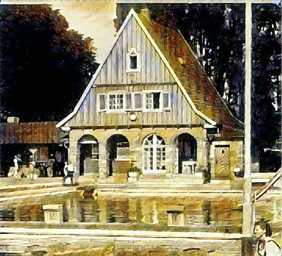 Soest Freibad Summer ☀ Sommer Architecture Building Exterior Built Structure Reflection City Outdoors Day Arch City Life Façade Rainy Exterior