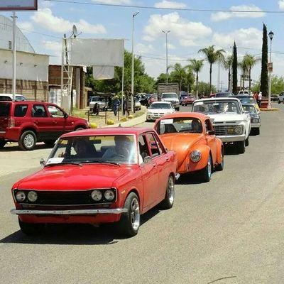 Carcachas de Rio Grande. Desfile de Clásicos. Vicente Guerrero 2014. Riograndezacatecas Zacatecas