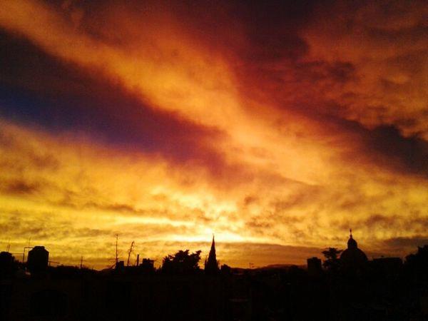Mexicolors Eyemphotography Cdmx Ciudad De México Mexico Sky_collection Sky Atardecer Colorsky Paisaje Fireinthesky