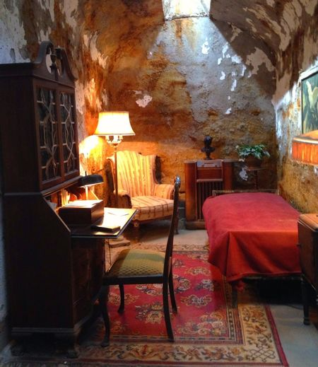 Al Capones cell Jail Prison Philadelphia Eastern State Penitentiary