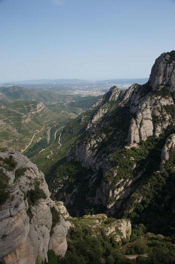 Cliff Landscape Sky Outdoors Nature Mountain Mountain Peak Beauty In Nature Eyesight Montserrat Barcelona Catalunya First Eyeem Photo