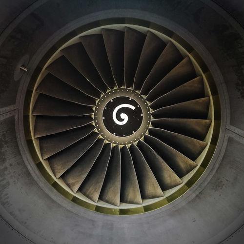 Jetengine Spiral Efhk Plane Fine Art Photography Beautifully Organized