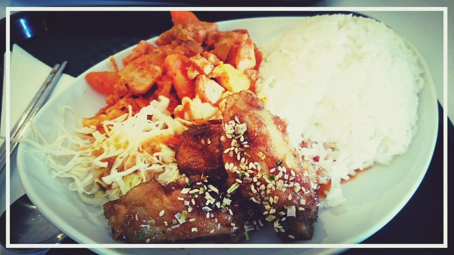Spicychicken Soychicken Rice Yum