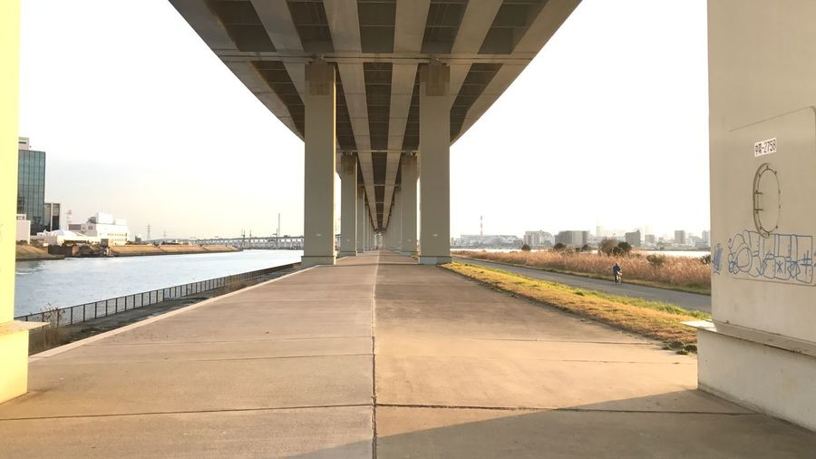 Architectural Column Architecture Bridge - Man Made Structure Built Structure City Day No People Outdoors River Sky Transportation Water