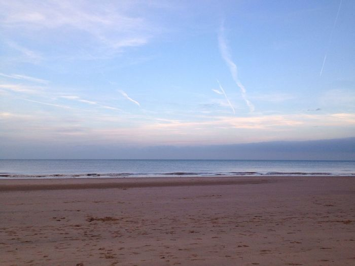 Mablethorpe Beach Sky
